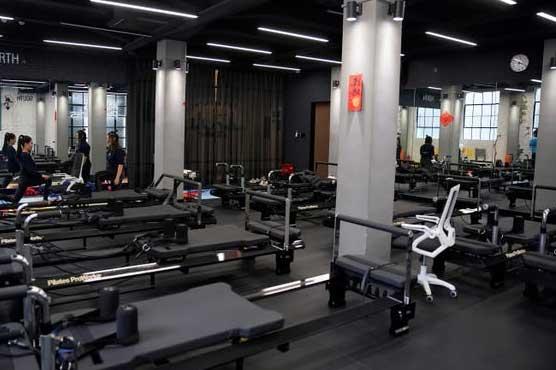 بھوت کی جم میں ورزش دیکھ کر صارفین ہکا بکا،ویڈیو سو شل میڈیاپر وا ئرل