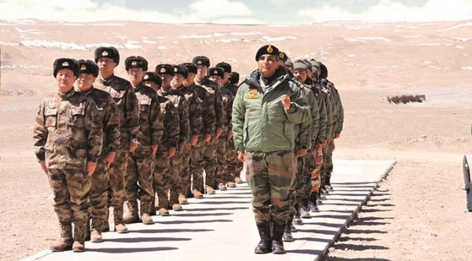 لداخ گلوان،پیانگ جھیل کے بعد بوٹل نک میں بھی بڑی تعداد میں چینی فوج تعینات