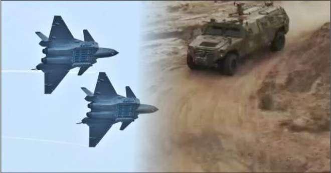 چین نے بھاری ہتھیار اور لڑاکا طیارے بھارتی سرحد پر پہنچا دہی