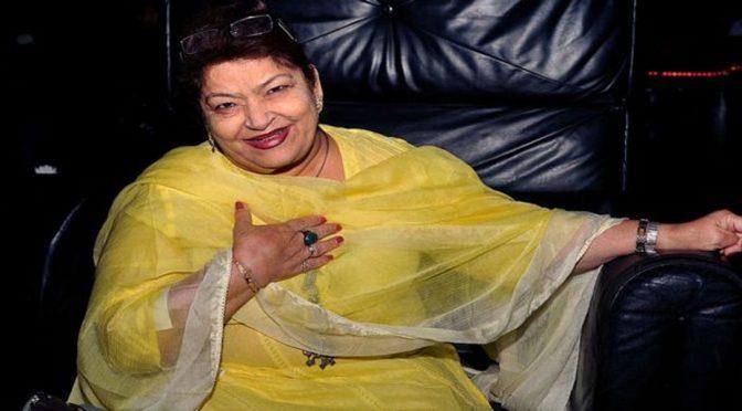بالی ووڈ کی معروف کوریوگرافر سروج خان چل بسیں