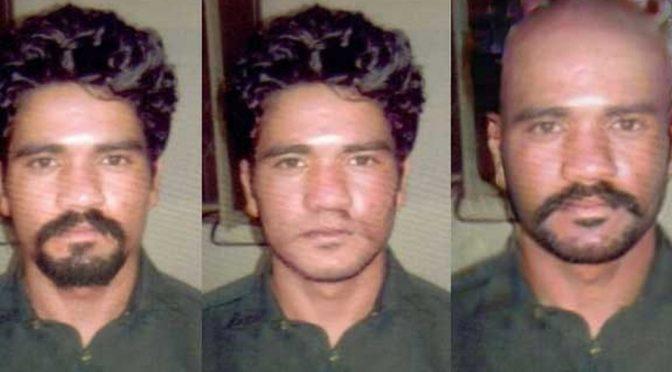 موٹر وے زیادتی کیس: مرکزی ملزم عابد کی مختلف روپ میں تصاویر جاری