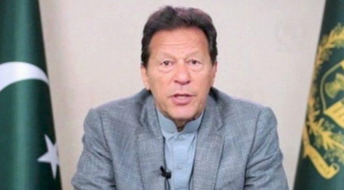 چوروں،لٹیروں کو ووٹ دینا ہے تو پھر کیا فرق رہ جائیگا:عمرا ن خان