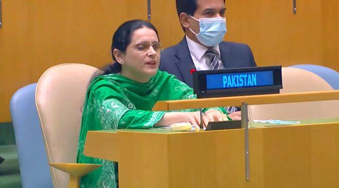 پاکستانی نابینا سفارت کار خاتون کا کشمیر بھارت کو کرارا جواب دنیا کی آ نکھیں کھول دیں