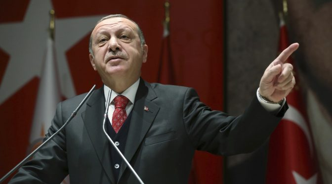 ترک صدر نے 10 ممالک کے سفیروں کو ملک سے نکالنےکی وارننگ واپس لے لی