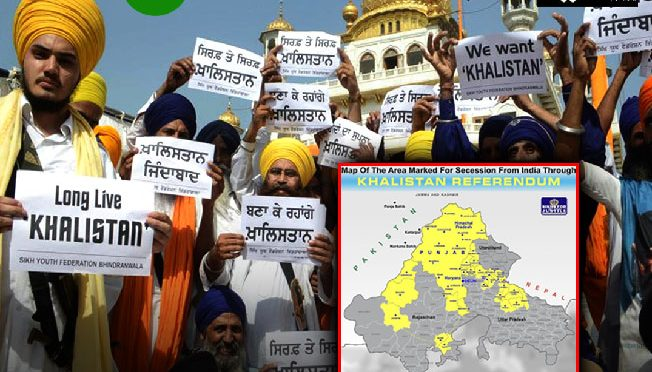 خالصتان کا نیا نقشہ، مشرقی پنجاب کے علاوہ ہریانہ، ہما چل پردیش بھی شامل