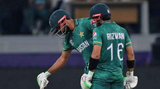 152 رنز ہدف کے تعاقب میں پاکستان کا اچھا آغاز
