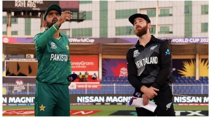 ورلڈکپ سپر 12: نیوزی لینڈ کی پاکستان کیخلاف بیٹنگ جاری